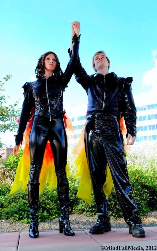 Targaryens - cosplay, Hunger Games - copyright MindFallMedia, 2012