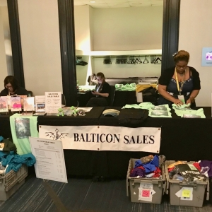 Balticon Sales Table