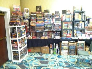 Walt's Cards and Games booth