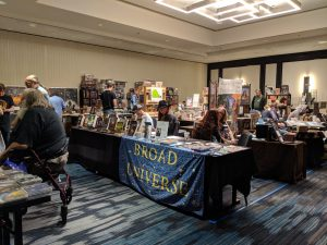 Balticon Dealer Room tables