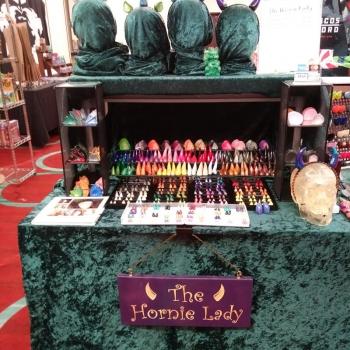 Hornie Lady Display